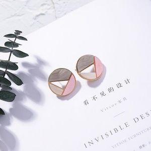 Unique Zone Jewelry - ❤️️NEW UNIQUE Circle Handmade Stud Earrings 1